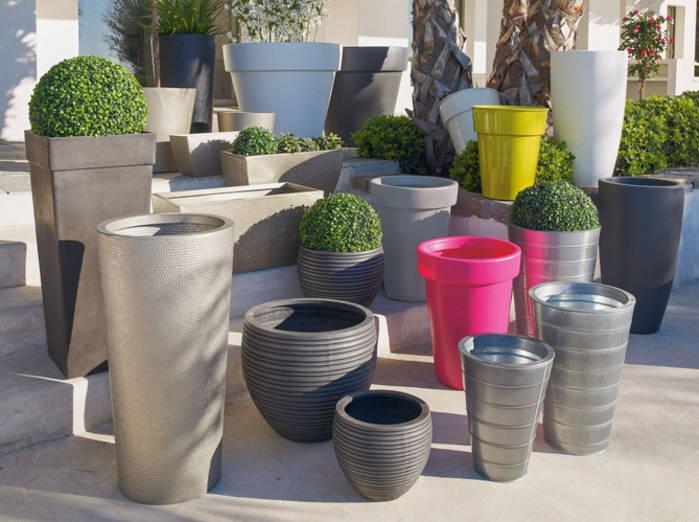 Quelles matières choisir pour vos pots de jardin ?
